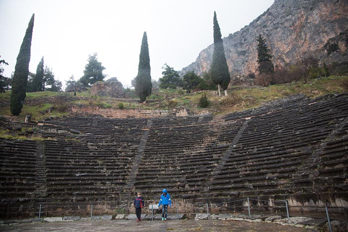 Delphi Theatre, Greece