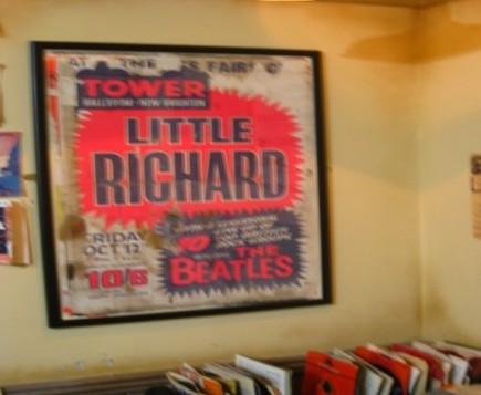 Frame of Little Richard Concert Date