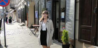 Monica Zielinski, journalism student, Poland