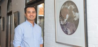 Thuan Vu, art professor, exhibit