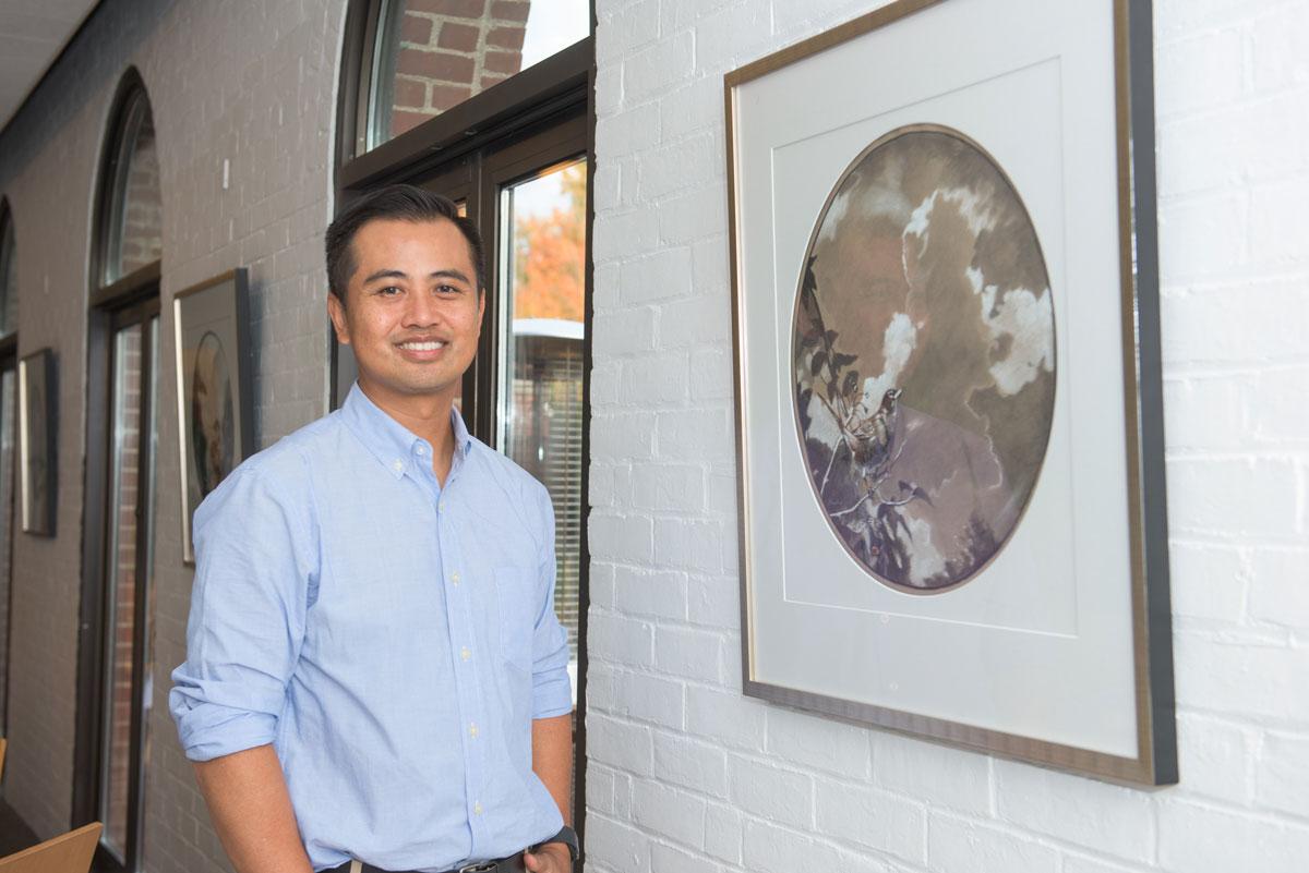 Thuan Vu, art professor, exhibit