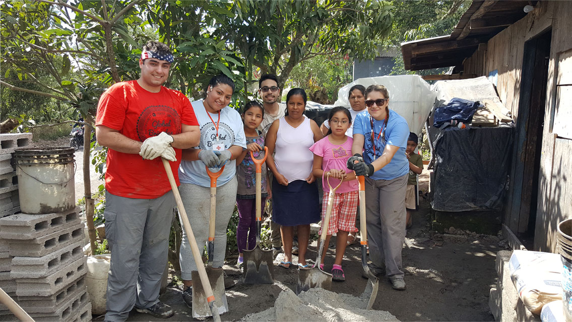 Students in Nicaragua