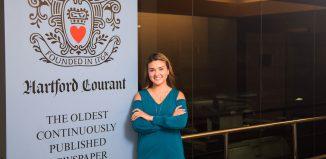 Sandra Gomez, journalism student, Hartford Courant