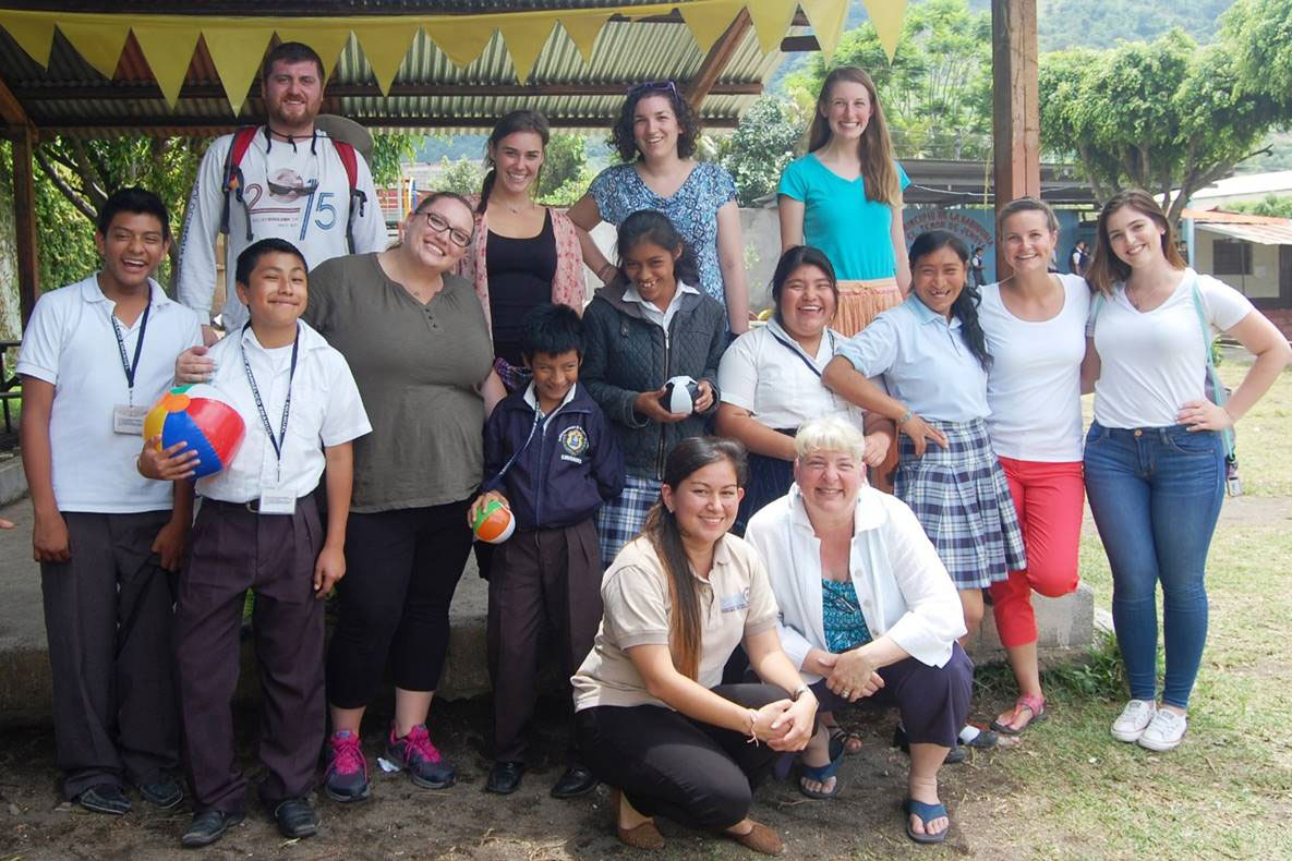 Education students in Guatemala
