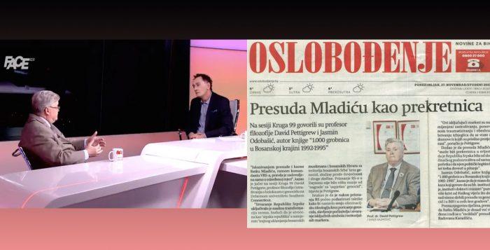 interview with SCSU Professor David Pettigrew with the the Federal News Agency (FENA) regarding the then-impending verdict in the Ratko Mladić case in Bosnia