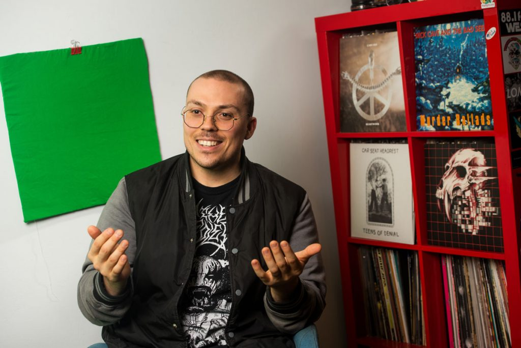 Anthony Fantano, '08, Gets Loud | News at Southern