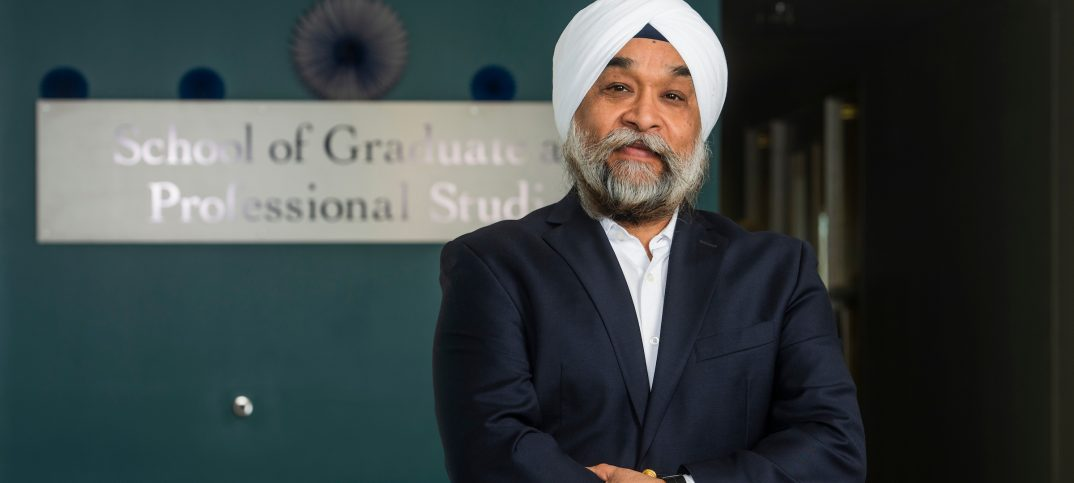 Manohar Singh, dean, SCSU School of Graduate and Professional Studies