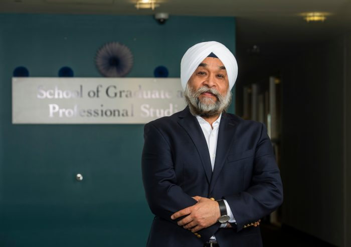 Manohar Singh, dean, SCSU School of Graduate and Professional Studies