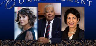 SCSU Commencement speakers 2019: Milana Vayntrub, Michael R. Taylor, Lynn M. Gangone