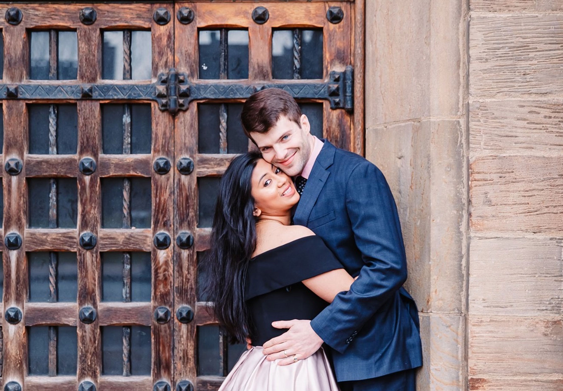 Collin Walsh, '08, and his wife, Amika