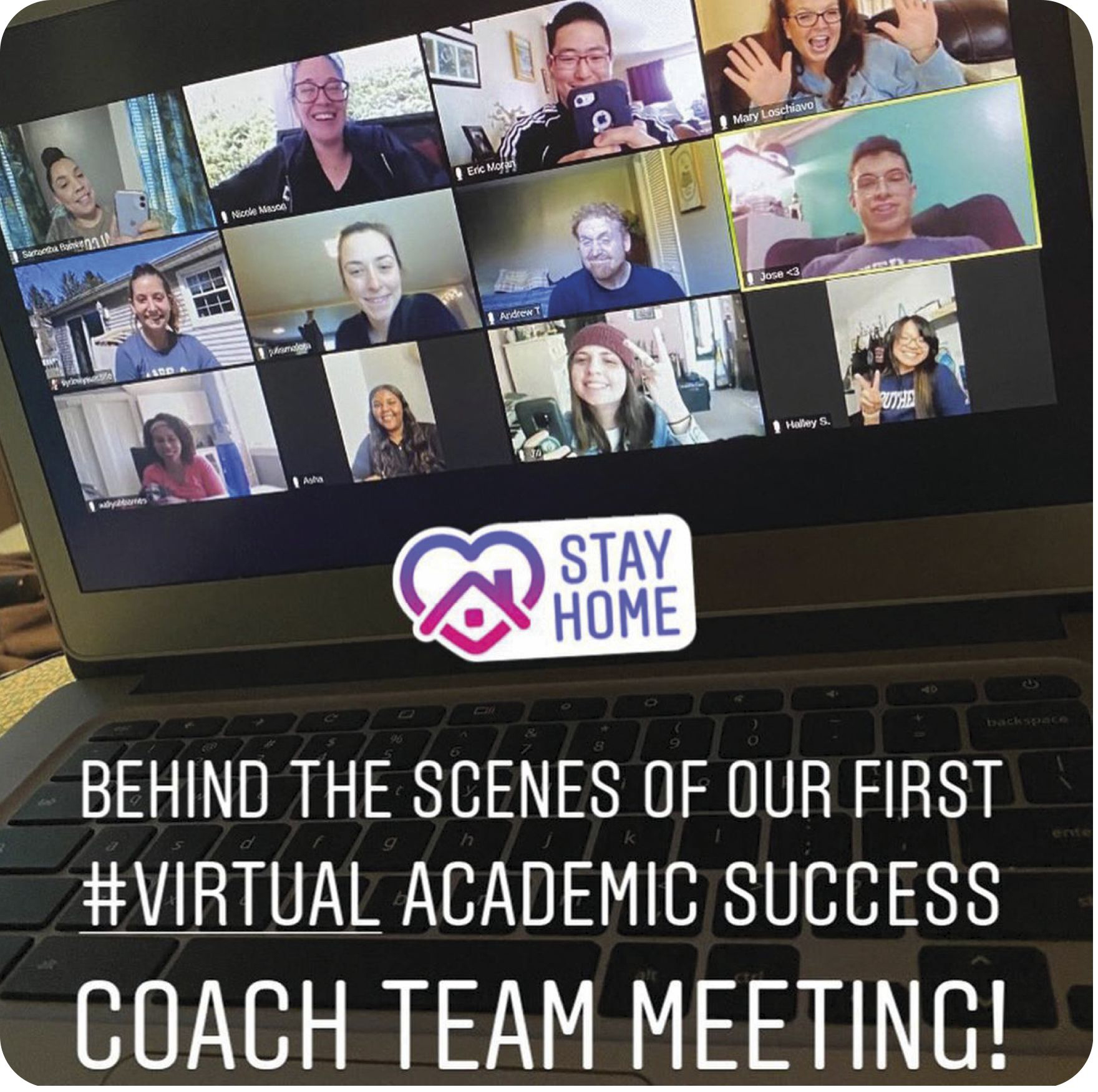SCSU Academic Success Center has Coach Team Meeting online