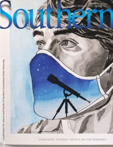Cover image, Southern Alumni Magazine, Spring '21