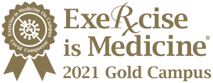 Exercise is Medicine gold certification badge