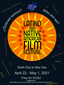 poster for the latin american and native american film festival