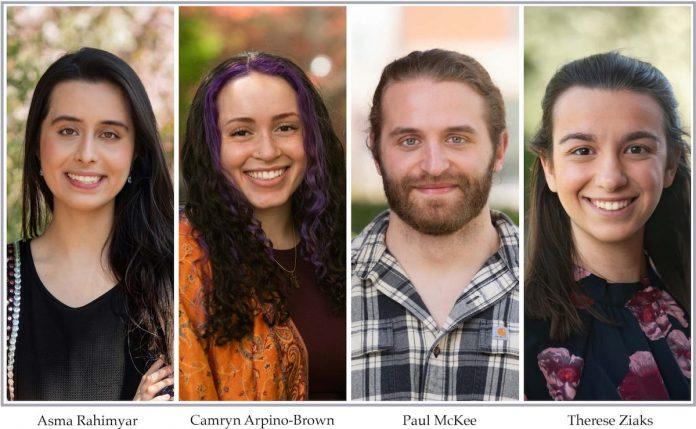 4 Barnard scholars