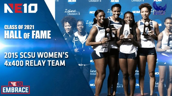 Southern Connecticut State University women's track & field 2015 4x400 relay team