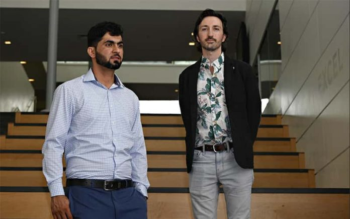 Mohammad Sharif Kakar and Buddy Toth