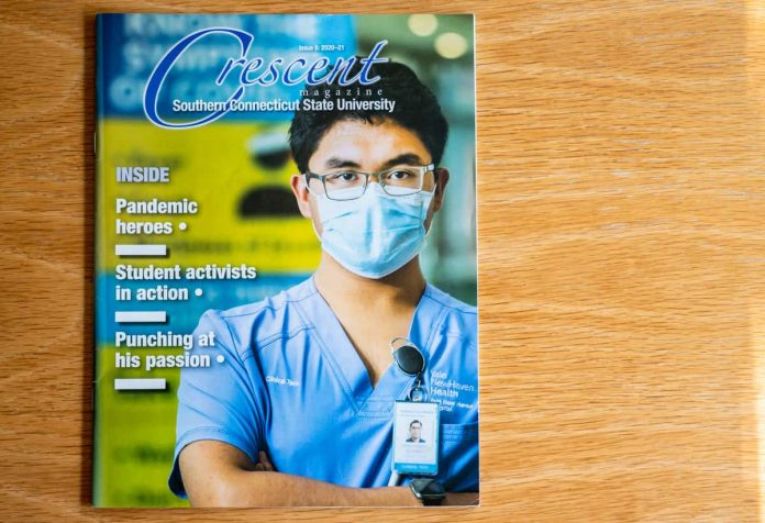 the cover of Crescent magazine